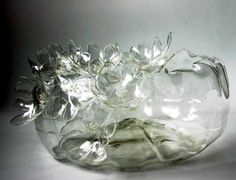 recycled plastic bottles...stunning!