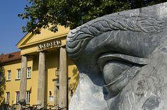 Blick auf die Ludwig-Maximilians-Universität München - Geschwister Scholl Platz. #LMU Foto von Digital Cat.