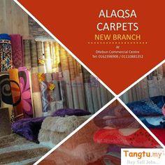 Alaqsa Carpets at Dkebun Comme. Selangor, Office Furniture & Fittings Klang, Alaqsa Carpets at Dkebun Commercial Centre.High Quality Carpets at Cheap Pri. Flooring Store, Carpet Flooring, Garden Furniture, Home Furniture, Centre, Office Carpet, Commercial Center, Quality Carpets, Free Classified Ads