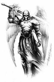 Resultado de imagen de warrior archangel michael tattoo