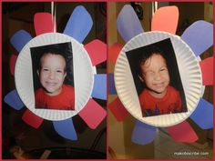 Mother's Day Flower made w/Paper Plate