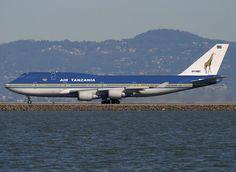 Air Tanzania Boeing 747 400 September 2004