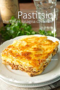 How to make Pastitsio: The Greek Lasagna Casserole
