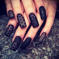Fashionable Lace Nail Art. Lace patterns are inherently romantic and have a rich history.#NEWAIR NAIL ART #sun@newair-nail.sina.net #