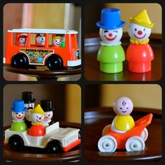 Crafty Polly's collection of vintage Fisher Price Little People Circa Fisher Price Toys, Vintage Fisher Price, Childhood Toys, Childhood Memories, 1970s Toys, 1980s, Toy People, Vintage Love, Vintage Items