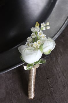 White Spring Bridal Party - Blush Floral Design