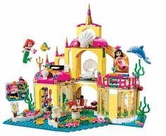 SY374 400 Pcs Princesse De L'océan Palais Modèle Kits de Construction Figurines Blocs Briques Fille Jouet Cadeau Compatible Avec Legoe