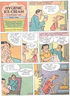 Amar Chitra Katha :: Suppandi the simple - Kri Sha - Picasa Web Albums Cartoon Jokes, Cartoons, Exam Quotes Funny, Comics Story, Funny Comics, Archive, Hilarious, Comic Books, Albums