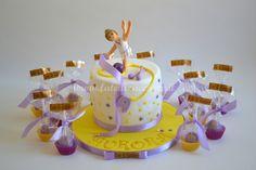 Torta Ginnasta con Lecca Lecca decorati in coordinato: interamente modellata a…