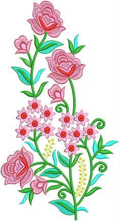 Applique Embroidery Design Flower Pattern Drawing, Flower Patterns, Flower Drawings, Applique Embroidery Designs, Decoration, Textile Design, Creative Art, Print Design, Abdul Kalam