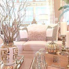 Modern glam decor glam living room decor post by interior design home decor inspire me home Living Room Inspiration, Home Decor Inspiration, Furniture Inspiration, Design Inspiration, Glam Living Room, Living Room Decor Elegant, Living Area, Living Rooms, Deco Design