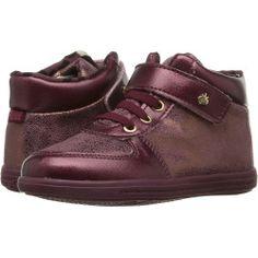 3701148-p-2x Best Deal Armani Junior  High Top HookandLoop Sneaker (Toddler) (Navy) Boy's Shoes