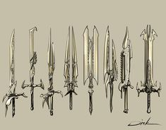 swords by d1sk1ss.deviantart.com on @DeviantArt