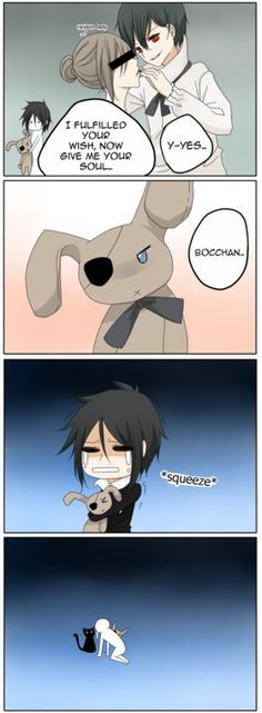 Sebastian does not like his bocchan being a demon, in more ways than one