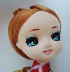 Japanese Pose Doll Big Eye. Beautiful Lips. 60s. $48.35, via Etsy.