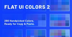 280 handpicked colors ready for COPY & PASTE