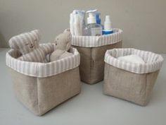 Estas lindas canastas con el Sello Stanza, te ayudarán a mantener organizadas todos los productos de tu bebé