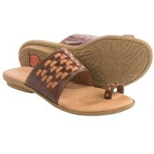 182b816cca2 Born Salla Leather Sandals (For Women) in Brown Tan Combo - Closeouts  Trading
