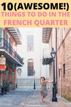 awesome Are you looking for things to do in the French Quarter? There are so many things to do in New Orleans, especially in the French Quarter! Read my guide to make the most out of your New Orleans vacation! CONTINUE READING Shared by: lavendervines New Orleans Vacation, Visit New Orleans, New Orleans Travel, Nola Vacation, Vacation Places, Trip To New Orleans, Vacation Ideas, Vacation Spots, Travel Guides