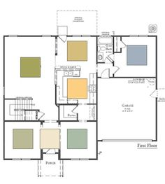 Paint Color for an Open Floor Plan