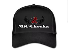 €17,99 order NOW!Mic Checka fully Black Trucker Cap. Match it with a Mic Checka hoody or T-shirt.