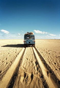 Land Rover Defender and the road less traveled.