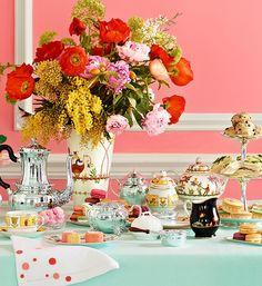 Como montar uma mesa de chá da tarde?   Blog Lolahome