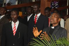 The Ministers during June Edition Monthly Revival Service