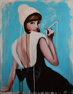 """Saatchi Art Artist Maria Folger; Painting, """"untitled"""" #art"""