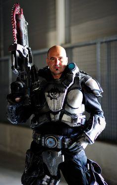 Marcus Michael Fenix of Gears of War #cosplay #marcusfenix #gearsofwar #badass