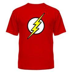 Мужская футболка Знак супергероя Магазин футболок