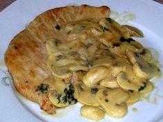 Escalopes de veau à la crème : Recette d'Escalopes de veau à la crème - Marmiton
