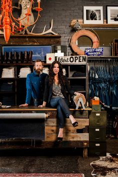 Carrie and Matt Edmonson, who both hail from a long line of pickers, began imogene   willie in 2009. It was a simple concept: They just wanted to make quality jeans that really fit. Housed in a 1950s service station, the shop also carries a well-appointed assortment of small goods and home items, so it feels like an extension of their personal archive. imogeneandwillie.com