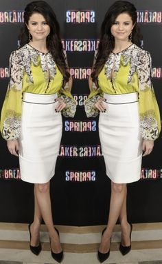 Selena Gomez at the 'Spring Breakers' photo call held at the Villamagna Hotel in Madrid, Spain, on February 21, 2013