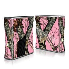 Cover almost any device you have in Pink Camo with http://www.decalgirl.com/artwork/4781/Break-Up-Pink
