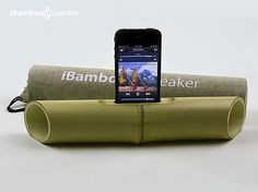 iBamboo – A Bamboo Speaker For iPhone 4