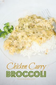 Chicken Curry Broccoli Dinner Recipe - quick and easy family favorite | KristenDuke.com