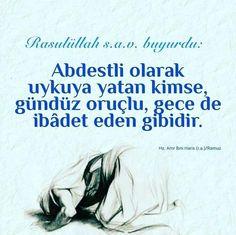 #hadis #resimlihadis #HzMuhammed - corek-otu-yagi.com Good Quotes For Instagram, Allah Islam, Karma, Best Quotes, Religion, Messages, Desk, Best Quotes Ever
