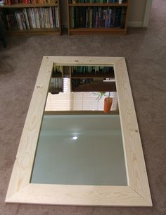 diy formal mirror frames | Looks good! Make any adjustments you need to if they don't quite fit ...