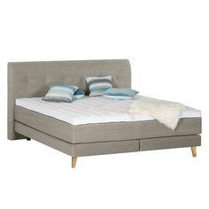 polsterbett klink webstoff 160 x 200cm altrosa. Black Bedroom Furniture Sets. Home Design Ideas