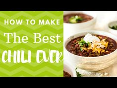 This is hands down the best chili recipe ever! Thick rich and robust! No skimpy spices at all and the right amount of kick! Chili so good, you'll want to hide in the corner and eat it all by yourself! Hot Sauce Recipes, Chili Recipes, Keto Recipes, Recipe Videos, Food Videos, Best Chili Recipe Ever, Asian Turkey Meatballs, Chili Toppings, Chili Ingredients