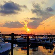 Sunset in Garden City and Marlin Quay Marina - Garden City is just a short drive… Beach Trip, Summer Beach, South Carolina Coast, Garden City Beach, Charter Boat, Myrtle, Fishing Boats, Boating, Kayaking