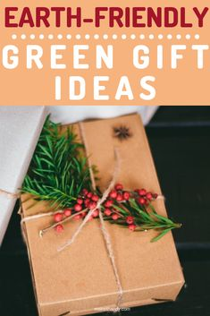Here are Earth-Friendly Green Gift Ideas For The Holidays. Let's find out.