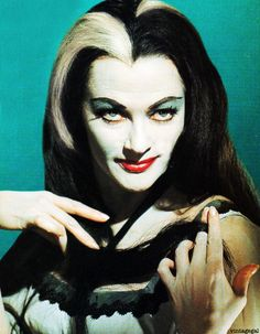 Yvonne De Carlo as Lily Munster 1960s