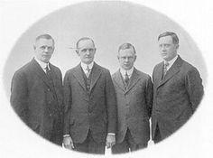Harley-Davidson: William Davidson, Walter Davidson, Arthur Davidson et William Harley