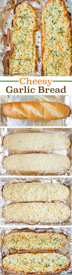 Cheesy Garlic Bread - this bread is AMAZING! I couldn't stop eating it! Love how versatile the recipe is.