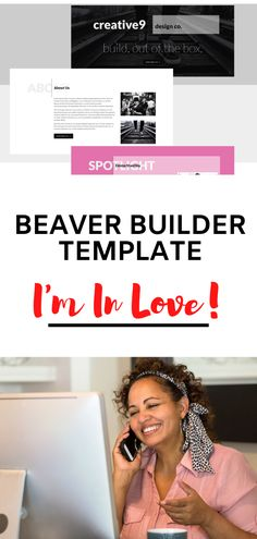 This new Beaver Builder template from ProBeaver is simply amazing! I fell in love with it when I was looking for something unique. Business Tips, Online Business, Make Money Online, How To Make Money, Im In Love, Content Marketing, Patience, Routine, Apps
