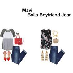 Mavi Baila Boyfriend Jean