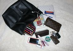 Inside Look: what's in my bag.