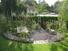 Tiny Garden Ideas, Outdoor Spaces, Pergola, Backyard, Shades, Exterior, Home Improvement, Flowers, Plants